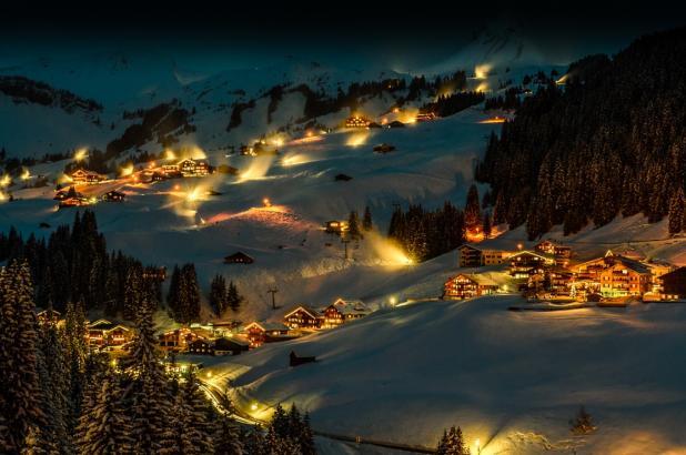 Bonita imagen de Dalmüs-Mellau en la zona de Bregenz