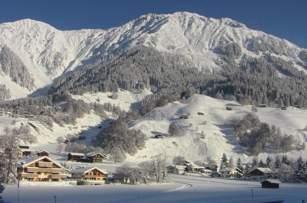 Imagen de la estación de esquí de Davos en Los Grisones