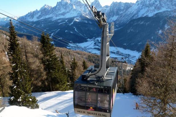 Teleférico Monte Elmo en Dolomiti di Sesto