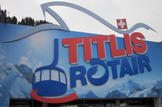Rotair en Titlis