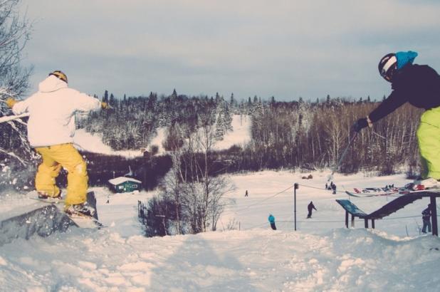 Snowpark en Falcon Ridge