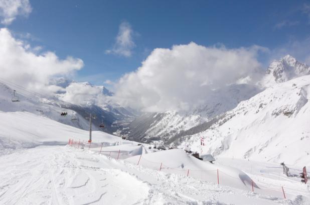 Imagen de la estación de Balme/Chamonix