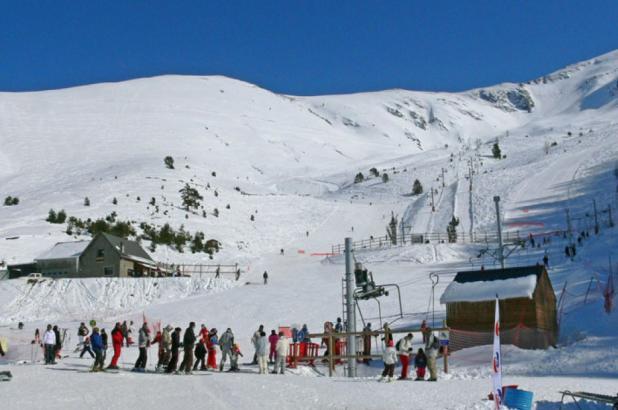 Esquí en Goulier Neige / Montcalm