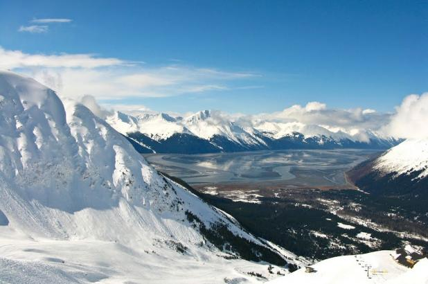 Alyeska Resort situado cerca de Anchorage, Girdwood