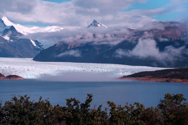 Imagen del Glaciar Perito Moreno en el parque nacional Los Glaciares