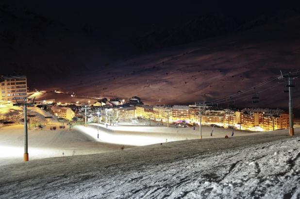 Grandvalira, noche en Pas de la Casa
