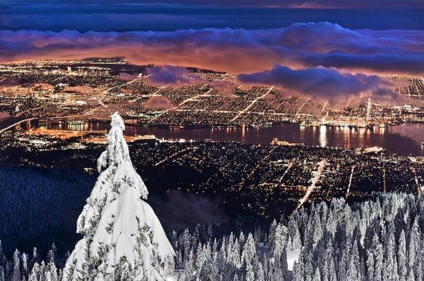 Grouse Mountain. Foto Pierre Leclerc