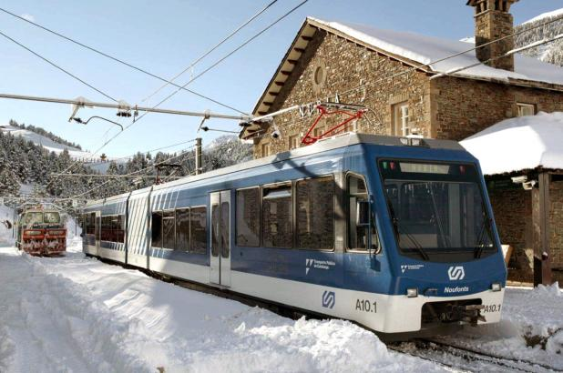 Estación de tren de Vall de Nuria