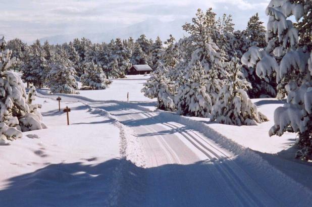 Estación de esqui Nórdico de Guils Fontanera