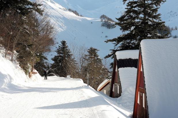 Estación de Guzet Neige en el Ariège Pyrénées