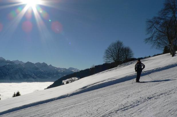 Bonito día de esquí en Habkern