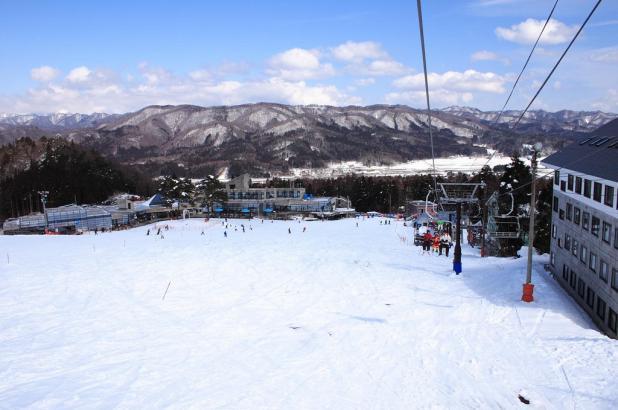 Hermoso paisaje en Hakuba Goryu