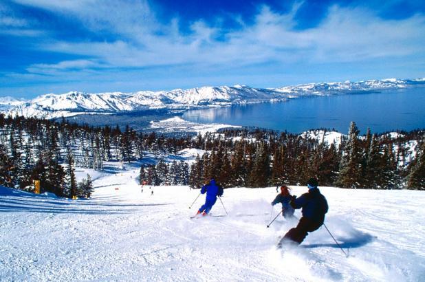 Heanvely en el Lago Tahoe, California
