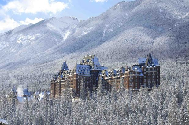 The Fairmont Banff Springs Hotel en Banff
