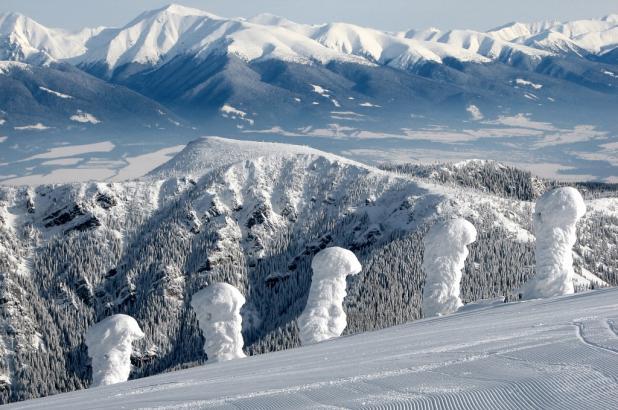 Estación de esquí de Jasná en el bajo Tatras