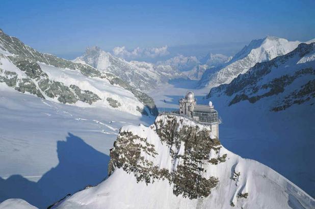 Imagen del complejo de Jungfrau Top of Europe