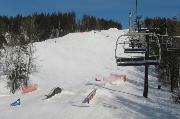 Snowpark en Kamiskotia