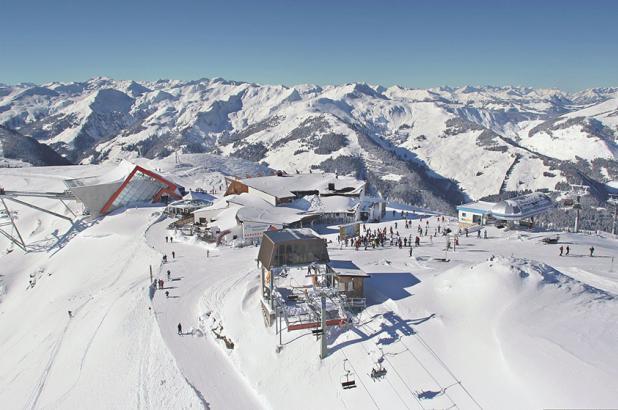 Vista aérea de Kitzbüheler Horn