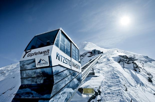 Imagen del funicular de Kitzsteinhorn en Kaprun
