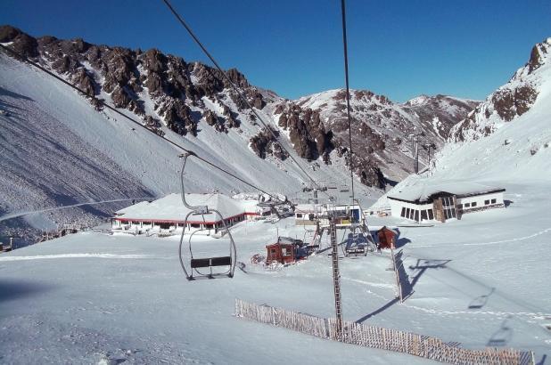 Imagen de La Hoya en la Patagonia argentina