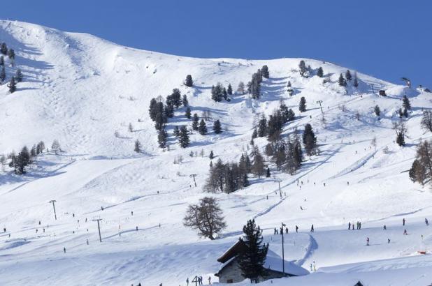 Bonito día de esquí en La Tzoumaz