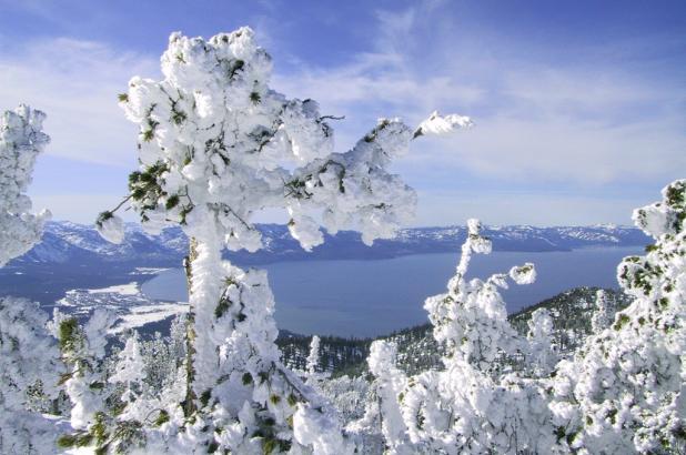 Vistas al lago Tahoe