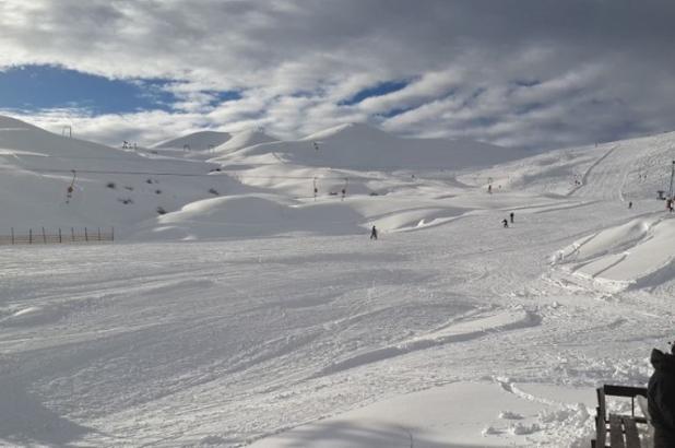 Imagen del centro de esquí de lagunillas