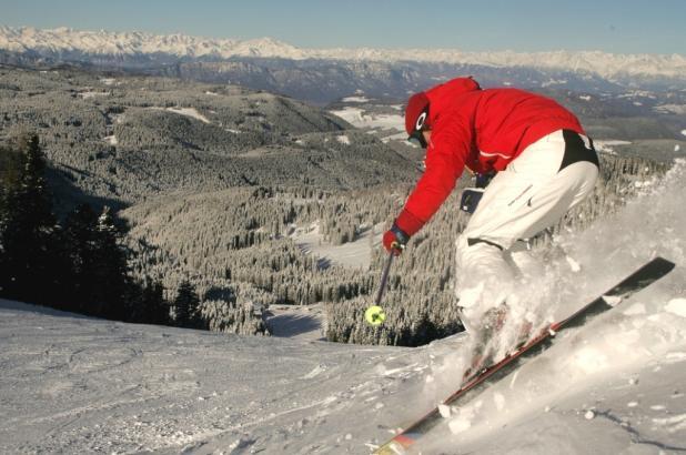 Esquí en Latemar, Val di Fiemme