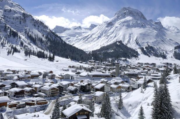 El maravilloso pueblo de Lech en el Voralberg