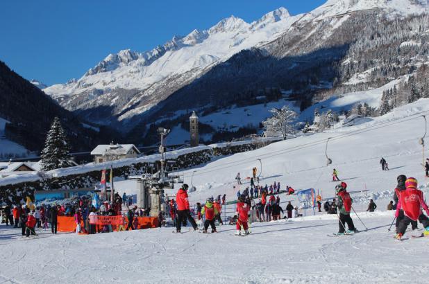 Esquiando en Lüina