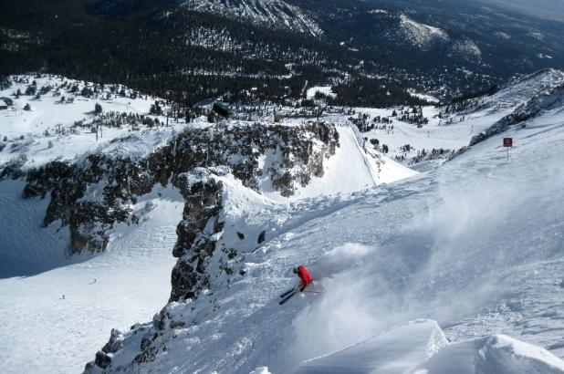 Fuera pistas en Mammoth Mountain, California