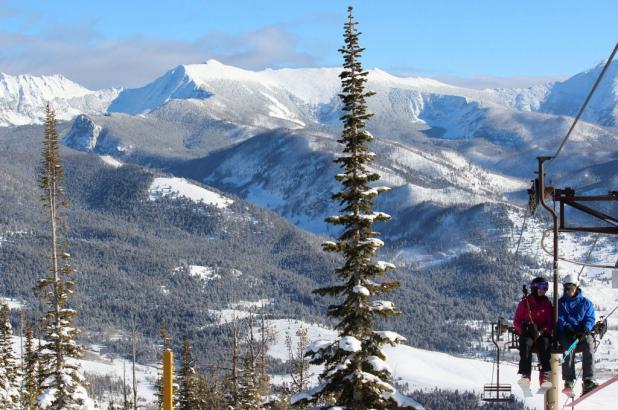Bonito paisaje en Maverick Mountain