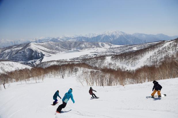 Snowboarding en Mitsumata/Kagura/Tashiro