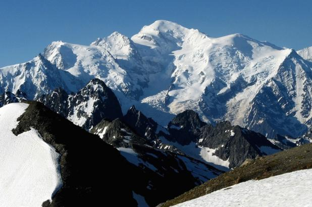 Espectacular imagen del Mont Blanc