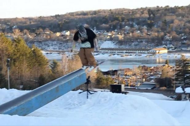 Snowpark en Mont Ripley