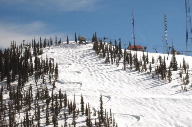 Día soleado en Montana Snowbowl