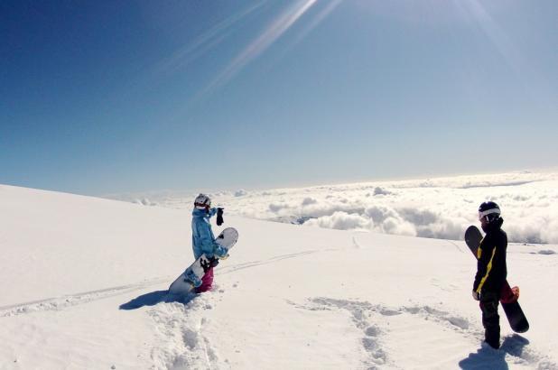 Foto en Mt. Cook, Autor kike