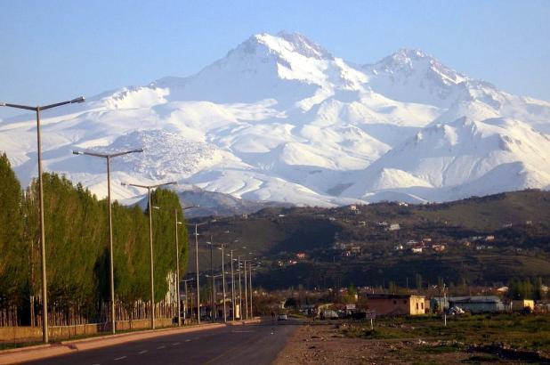 Vista panorámica del Mount Erciyes