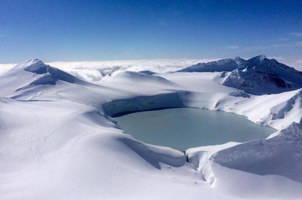 Mt. Ruapehu. Foto Sergi Garcia Yeti