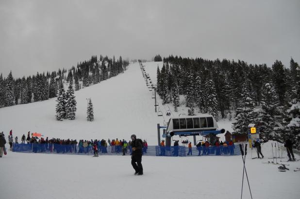 Día nublado en Mt. Shasta Ski Park