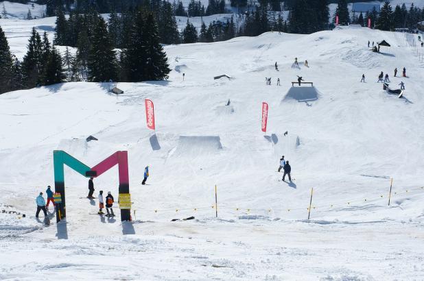 Snowpark de Mythen Region