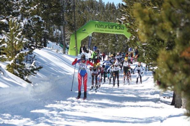 Imagen de Naturlandia en Andorra, esquí de fondo, crédito Facebook