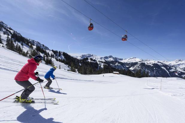 Esquiando en Neunerköpfle