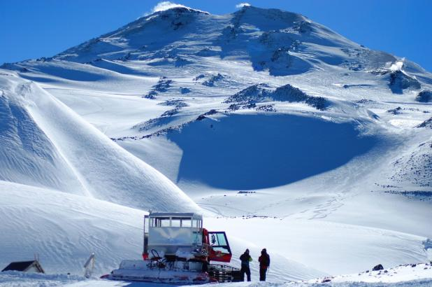 Imagen del Catskiing en Nevados de Chillán