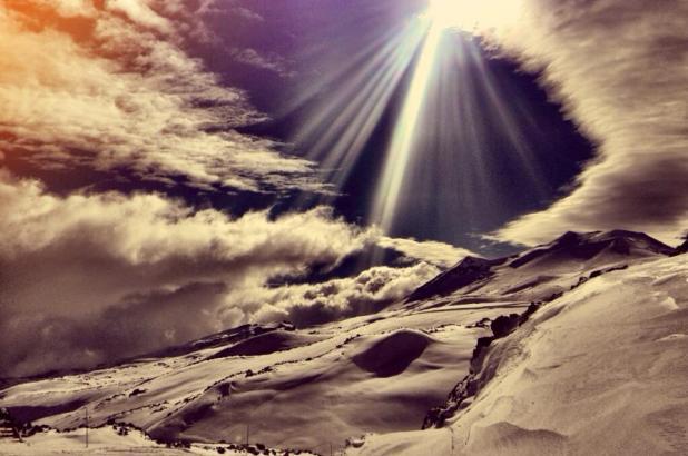 Nevados de Chillán. Foto de Benjamin Aviles Cid