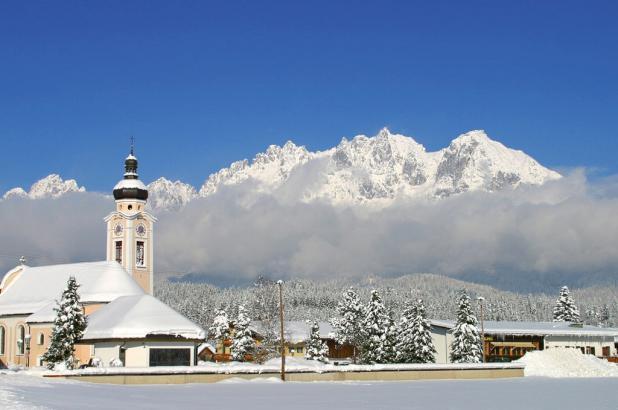 Panorámica de Oberndorf (Tirol)