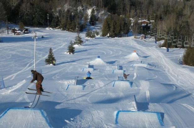 Snowpark en Otsego