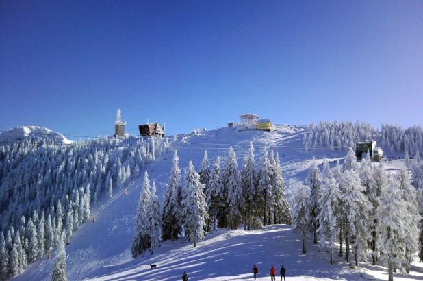 Estación de esquí de Poiana Brasov en los Cárpatos