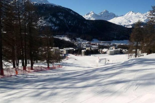 Bonito día de esquí en Pontresina
