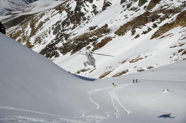 Imagen de Powder South Heliski en Los Andes, crédito imagen Powder South Heliski